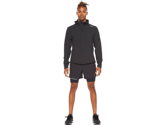 2XU Aero Jacket Men black/silver reflective